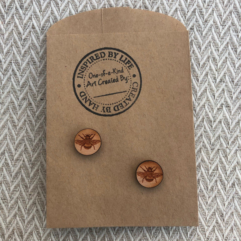 Wood Studs-Bees