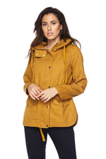 Safari jacket with Hoodie