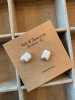 Locally Handmade Concrete Earrings