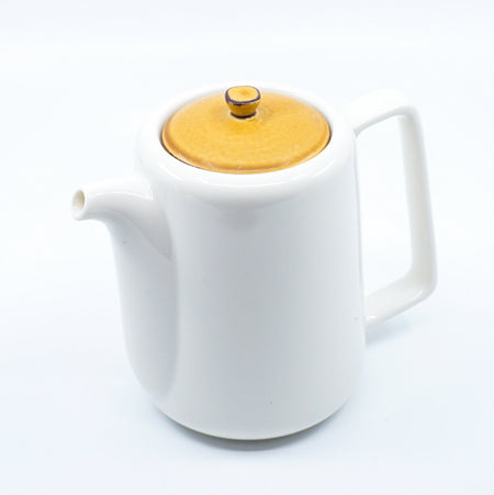 Miyama焦糖啡色陶瓷茶壺連濾茶器 Miyama Caramel Brown Tea Pot With Tea Strainer
