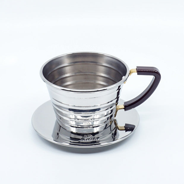 Kalita波浪手沖咖啡濾杯 (155/185 不鏽鋼版) Kalita Wave Dripper (Stainless Steel)