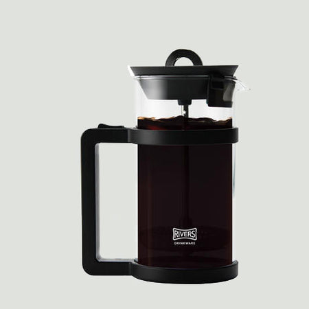 日本RIVERS Coffee Press HOOP 350ml - 德國玻璃法式濾壓壺