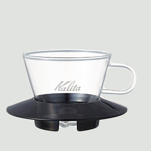 Kalita波浪濾杯(155/185玻璃版) / Kalita Wave Dripper (155/185 Glass Version)