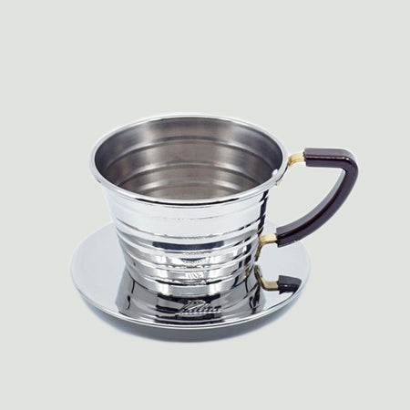 Kalita波浪濾杯 (155/185不鏽鋼版) / Kalita Wave Dripper (155/185 Stainless Steel)