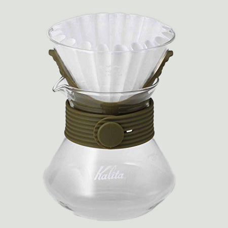 Kalita 波浪玻璃濾杯185組合 / Kalita Wave Style Up 185 Set