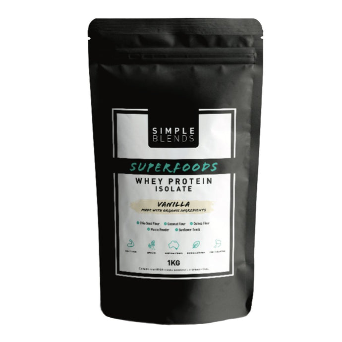 Simple Blends - Superfoods Whey Protein