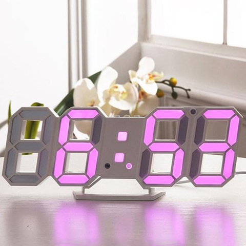 Horloge Murale<br> LED Rose - Horloge Tendance