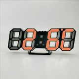 Horloge Murale<br> LED Orange - Horloge Tendance