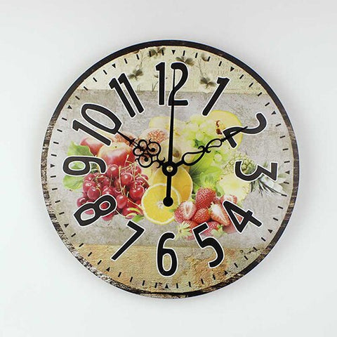 Horloge Murale<br> Fruits - Horloge Tendance