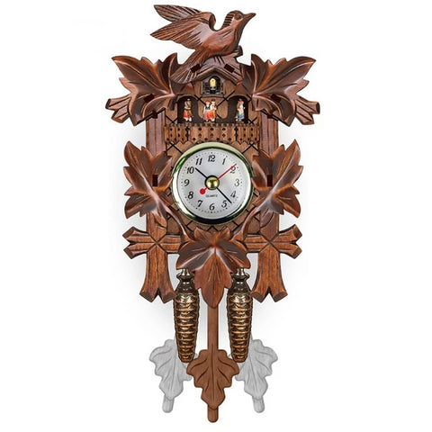 Horloge Murale<br> Coucou Traditionnel - Horloge Tendance
