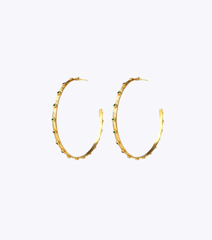 Coriolis Chain Earrings