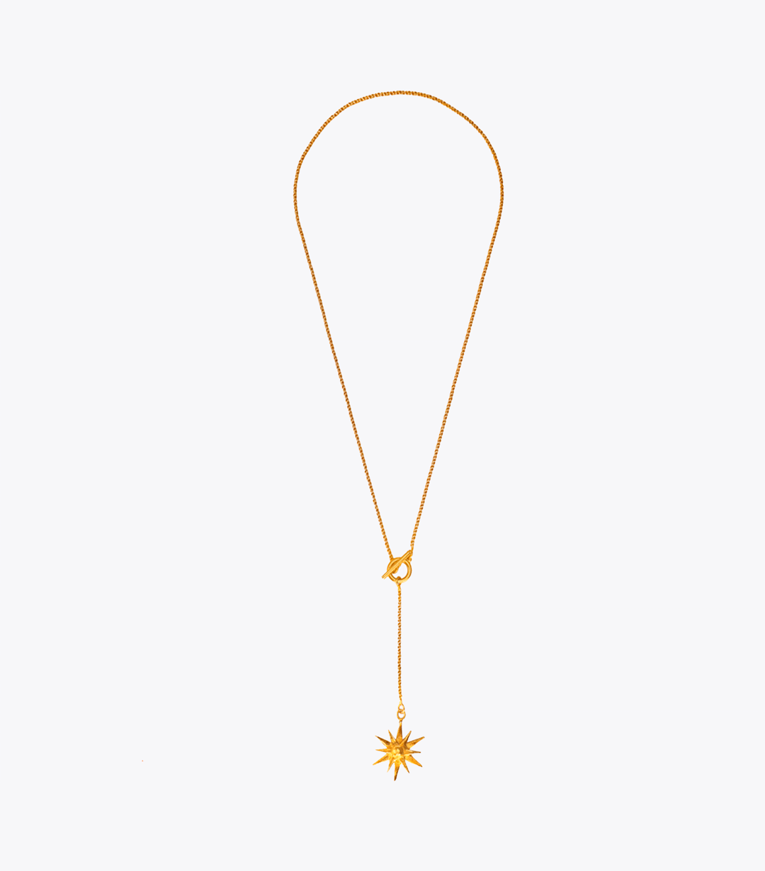 Starburst Drop Necklace