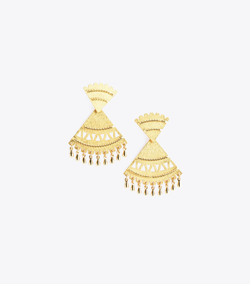 Abanico Medium Earrings