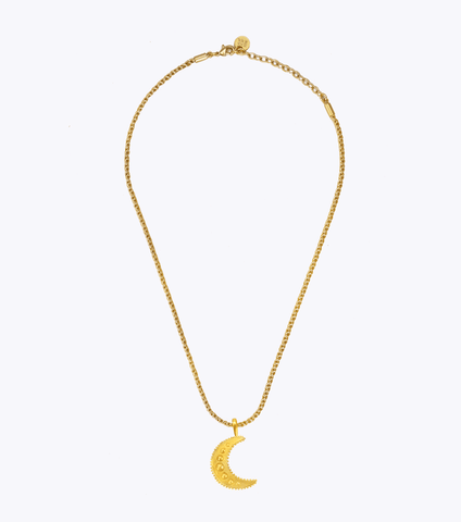 Believe Oblong Large Chain Necklace