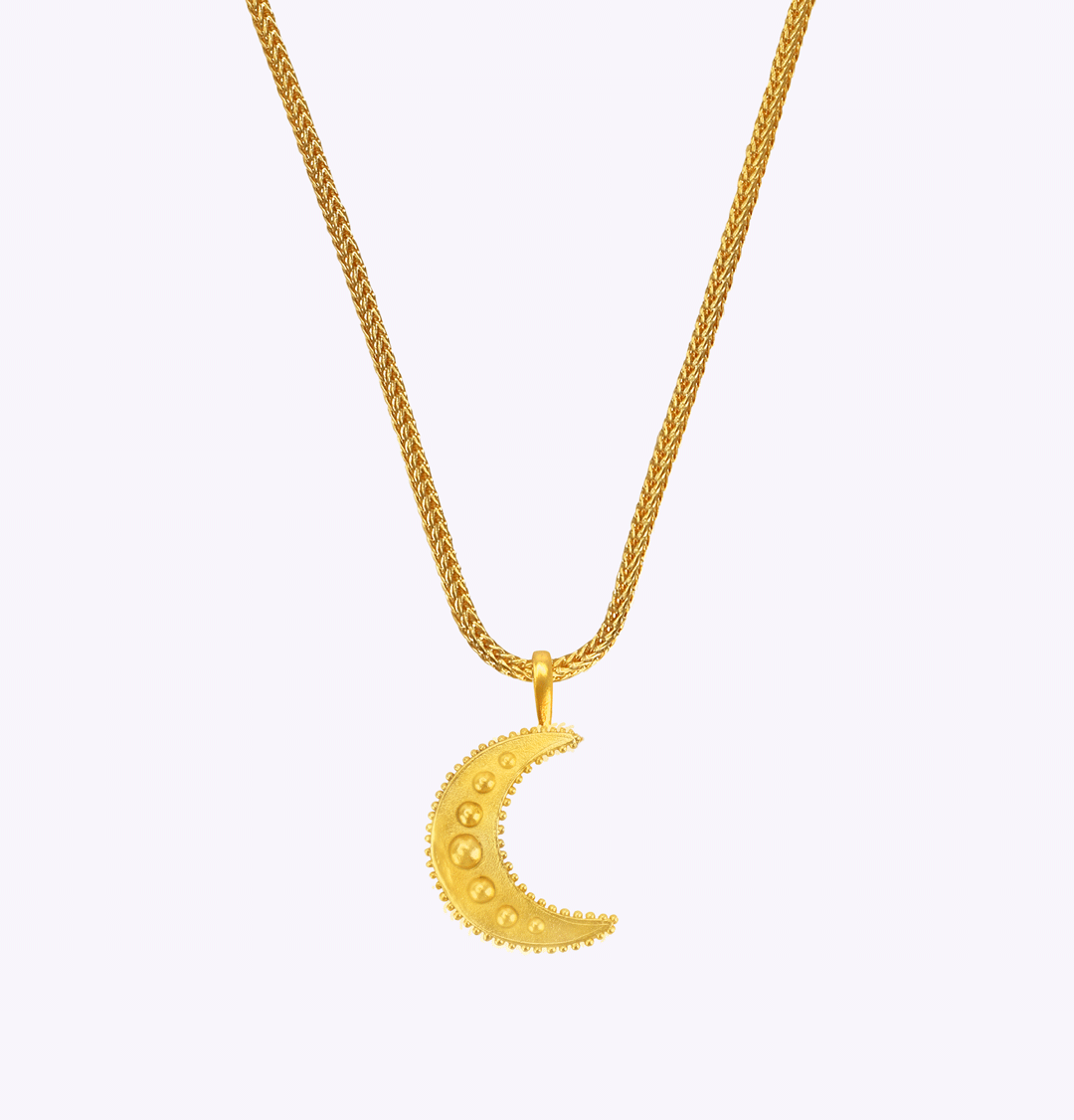 Moonlight Snake Chain Necklace