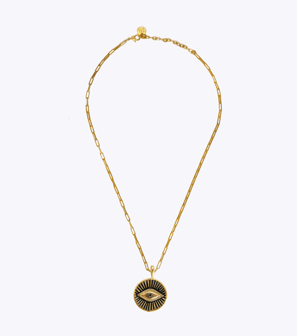 Inner Vision Oblong Chain Necklace