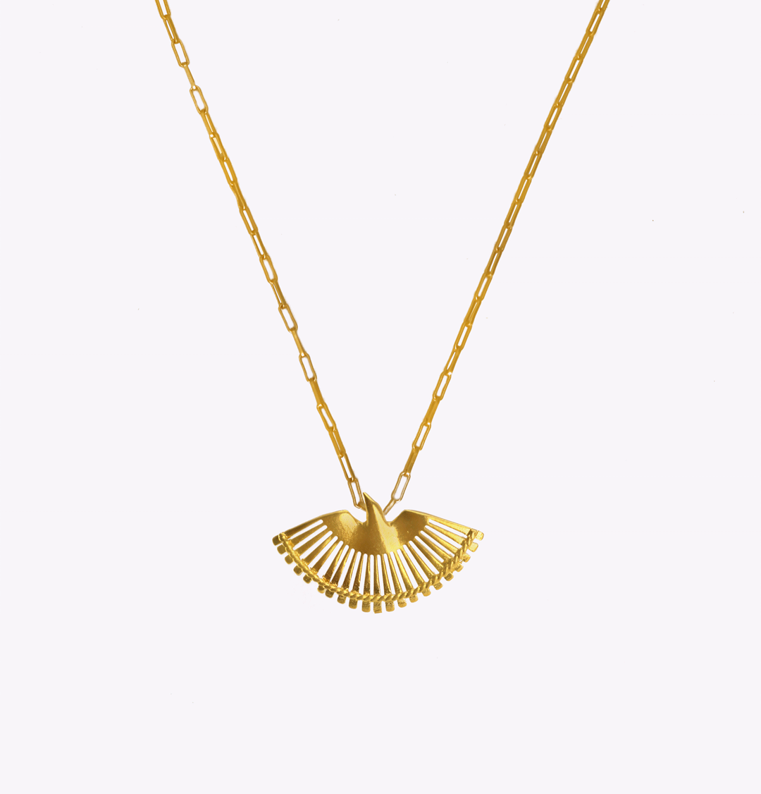 Fenix Oblong Large Chain Necklace