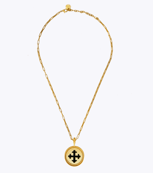 Devotion Oblong Chain Necklace