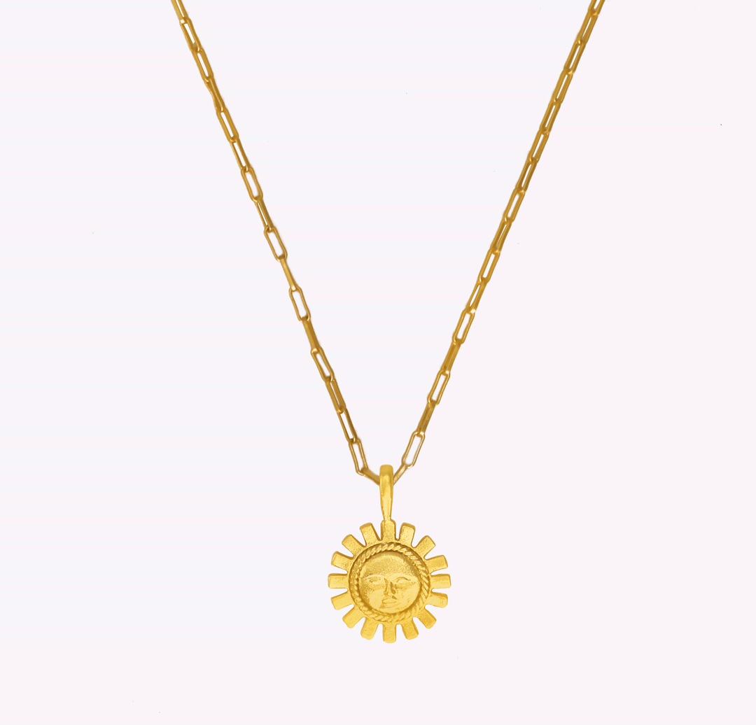 Rising Soul Oblong Chain Necklace