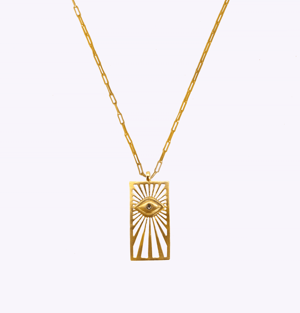 Vision of Light Oblong Necklace
