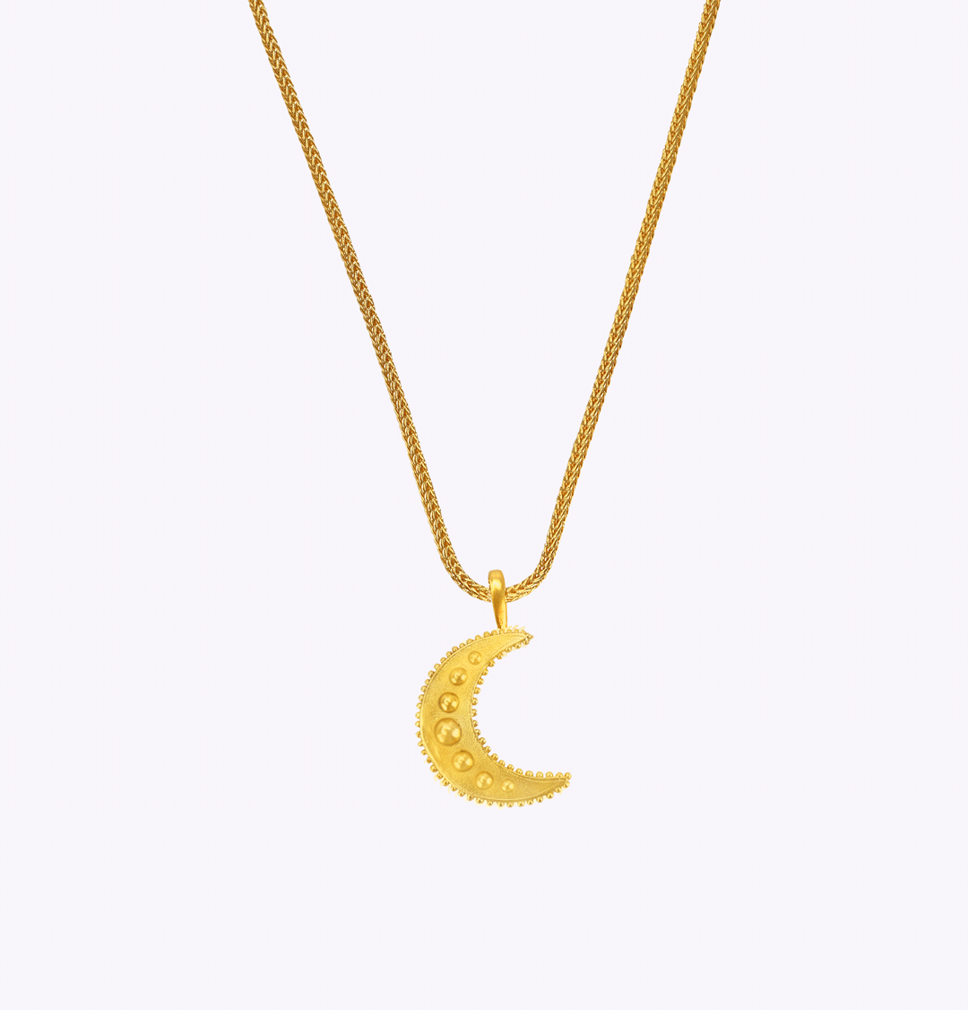 Moonlight Snake Large Chain Necklace