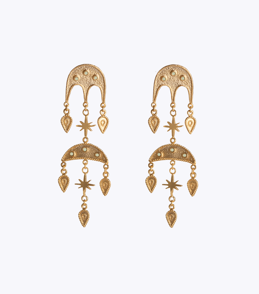 Jebel Double Earrings