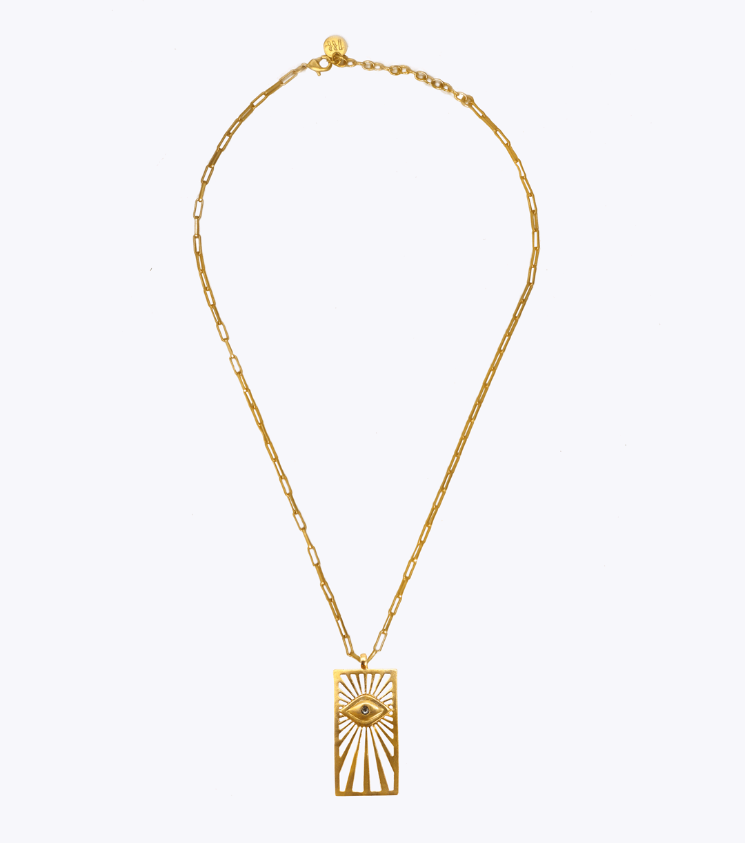 Vision of Light Oblong Long Necklace