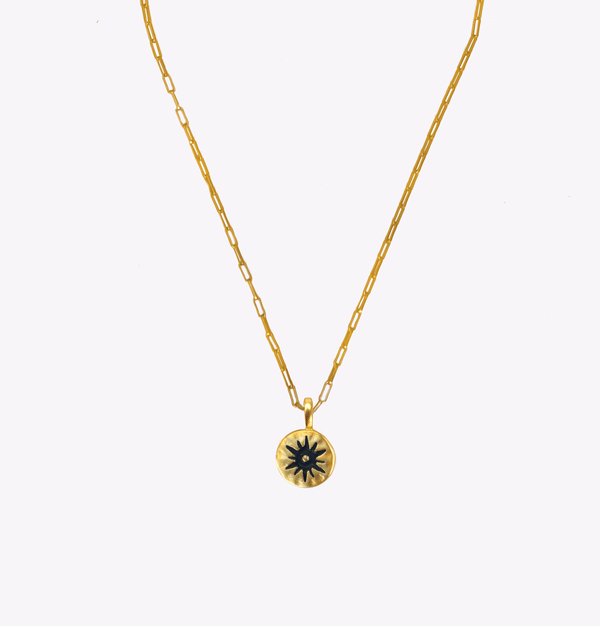Shine Oblong Chain Necklace