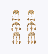 Jebel Triple Earrings