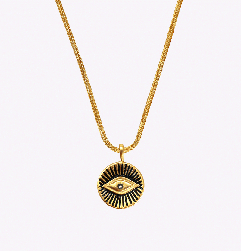 Inner Vision Snake Chain Necklace