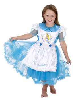 Alice In Wonderland Daisy Chain Girls Costume