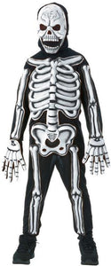 3D Skeleton Child Costume