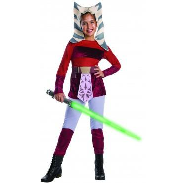 Ahsoka Star Wars Girls Costume