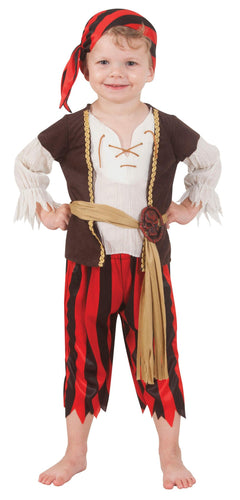 Ahoy Matey Pirate Child Costume