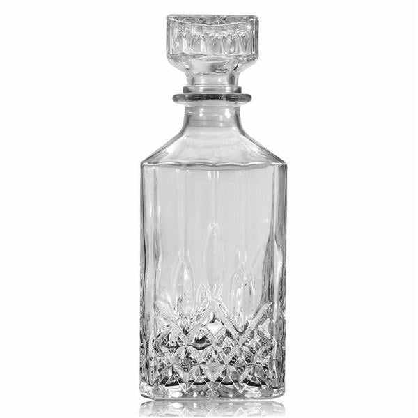Crystal Bourbon Whiskey Decanter