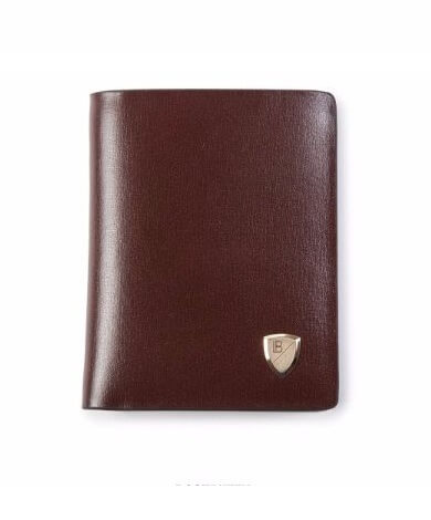 Luxury Brown Leather Wallet