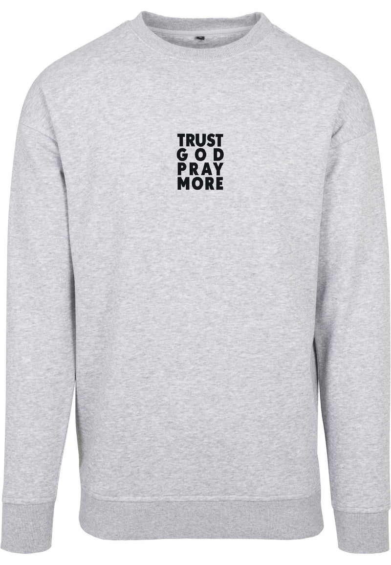 TRUST GOD Unisex Sweatshirt (H.Grey)