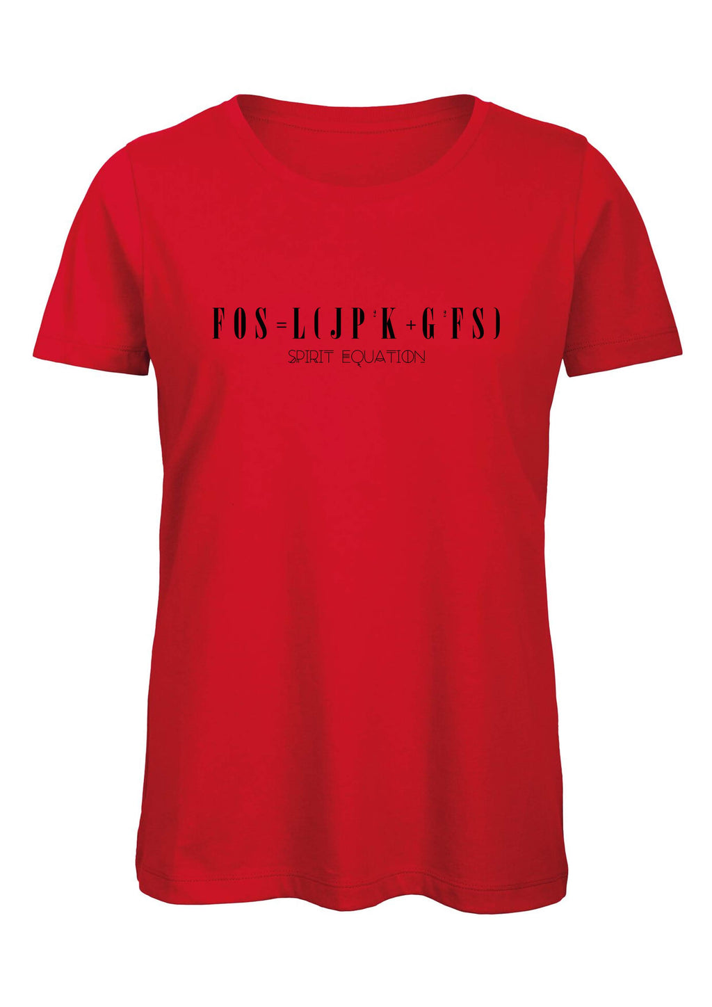 SPIRIT EQUATION T-shirt S/S (Red)