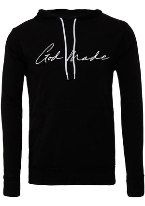 GOD MADE Unisex polycotton fleece pullover hoodie
