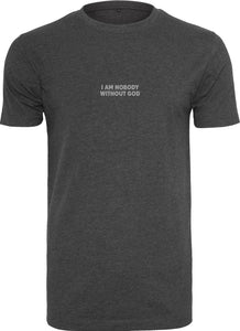 Nobody Round Neck T-Shirt (Charcoal)