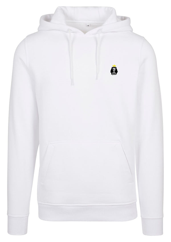 Unisex LION AND LAMB Oversized Hoodie (White)