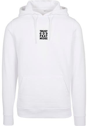 TRUST GOD Pullover Hoodie (White)