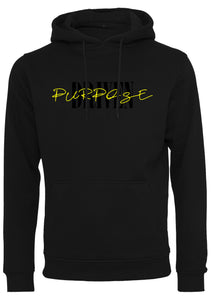 PURPOSE DRIVEN Unisex Pullover Hoodie (Black)