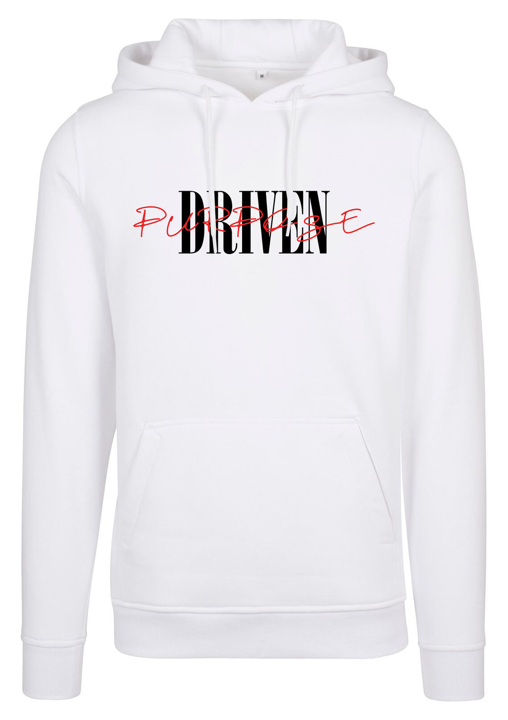 PURPOSE DRIVEN Unisex Pullover Hoodie (White)