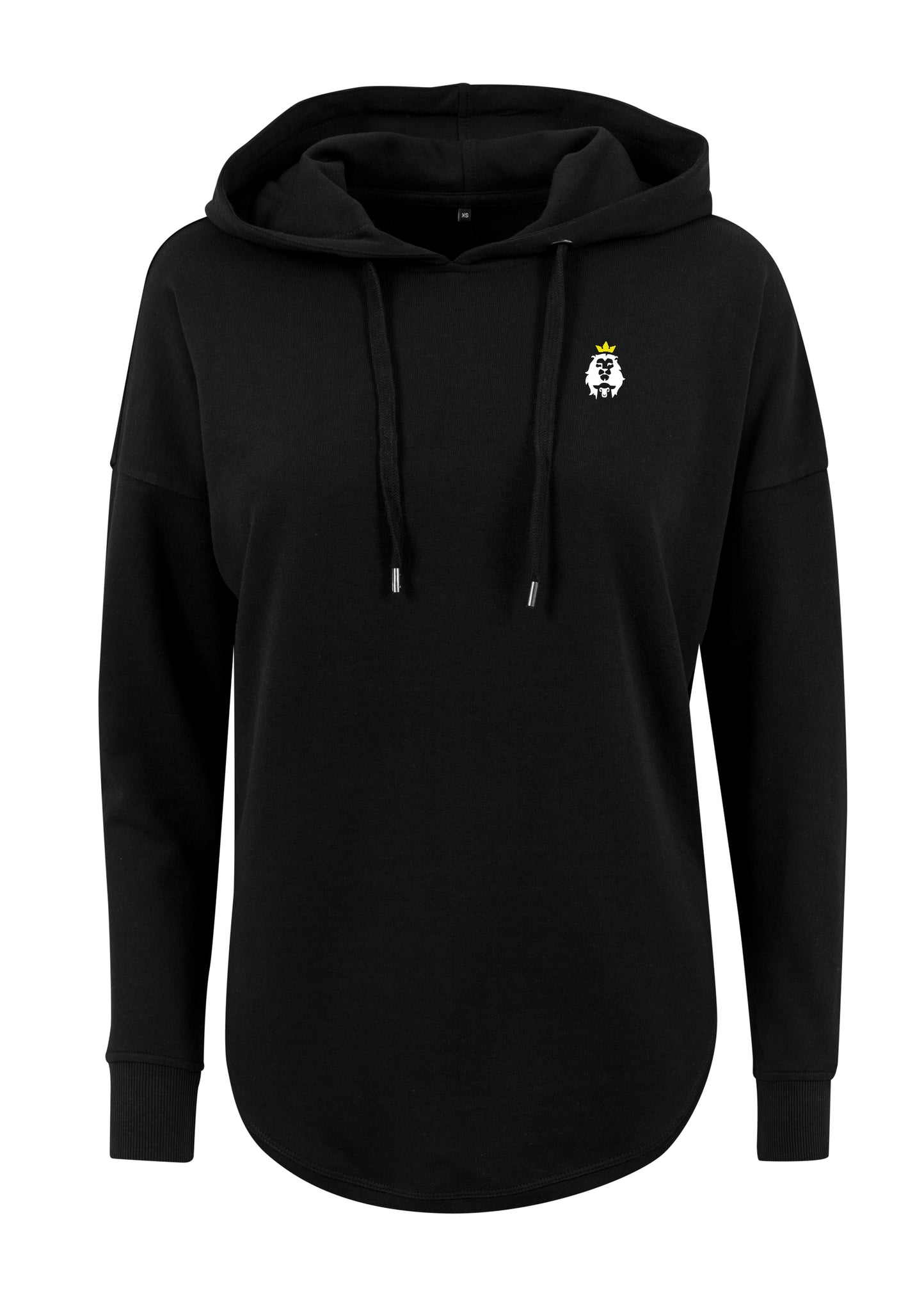 Women's LION AND LAMB Oversized Hoodie (Black)