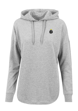 Women's LION AND LAMB Oversized Hoodie (H.Grey)