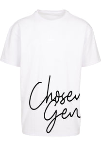 CHOSEN GEN Unisex Oversized T-Shirt (White)