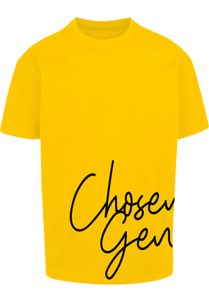 CHOSEN GEN Unisex Oversized T-Shirt (Yellow)