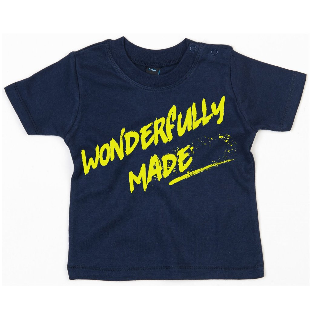 Babies & Toddlers Wonderfully Made T-Shirt S/S