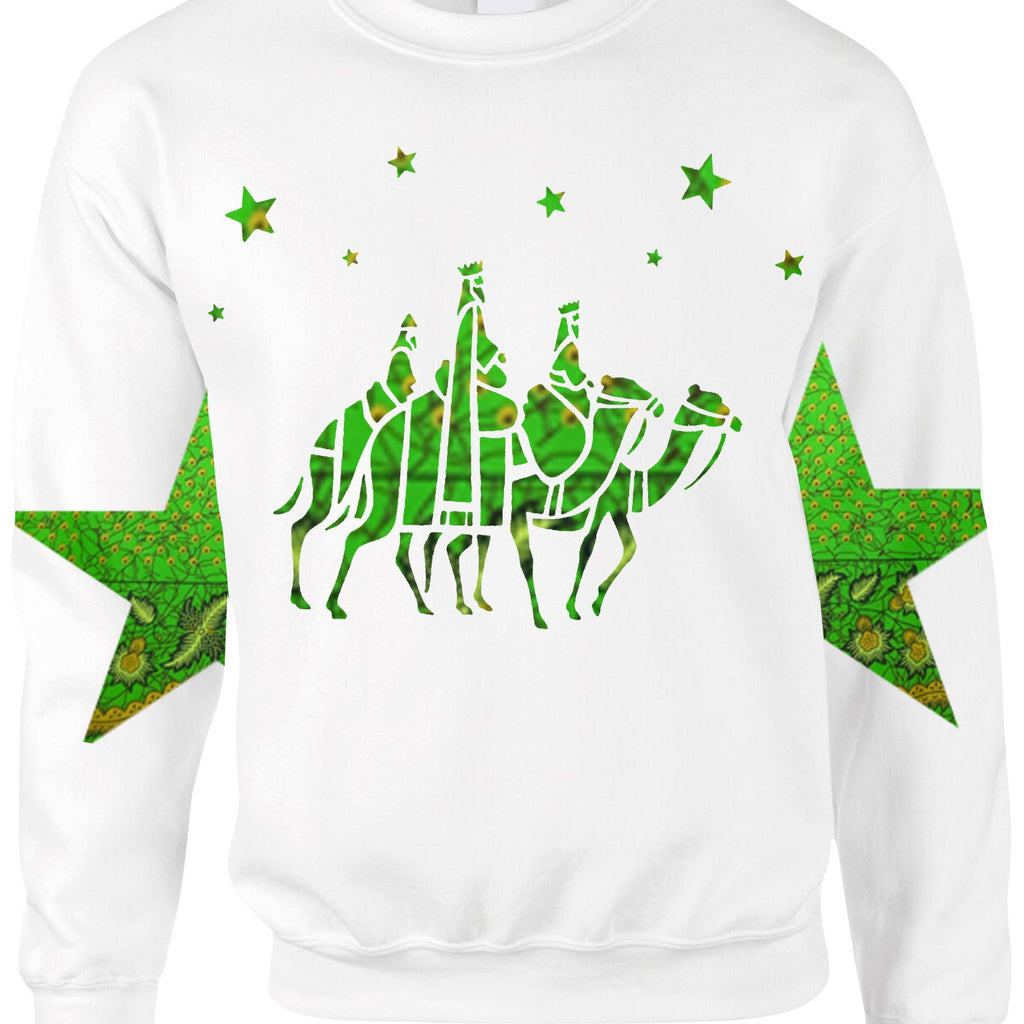 Womens WISE MEN Christmas Sweatshirt